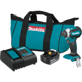 Makita XDT131 18V LXT Li-Ion Brushless Cordless Impact Driver Kit 3.0Ah