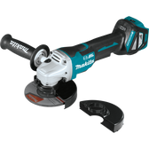 "Makita XAG20Z 18V LXT Li-Ion Brushless Cordless 4-1/2"" / 5"" Paddle Switch Cut-Off/Angle GrinderTool Only"