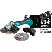 "Makita XAG13Z1 18V X2 LXT Li-Ion Brshlss Crdlss 9"" Paddle Switch Cut-Off/Angle Grinder, Tool Only"