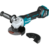 "Makita XAG21ZU 18V LXT Li-Ion Brshlss Crdlss 4-1/2""/ 5"" Paddle Switch Cut-Off/Angle Grinder, Tool Only"