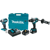 Makita XT267T 18V LXT Li-Ion Brushless Cordless 2 Pc Combo Kit 5.0Ah