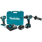 Makita XT268T 18V LXT Li-Ion Brushless Cordless 2 Pc Combo Kit 5.0Ah