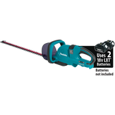 "Makita XHU04Z 18V X2 LXT Li-Ion Cordless 25-1/2"" Hedge Trimmer Tool Only"