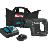 Makita XRJ07R1B 18V LXT Li-Ion SubCompact Brushless Cordless Recipro Saw Kit 2.0Ah