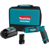 Makita TD022DSE 7.2V Li-Ion Cordless Impact Driver Kit Var Spd rev. LED Light case