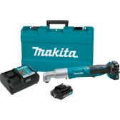 Makita LT01R1 12V Max CXT Li-Ion Cordless Angle Impact Driver Kit Var Spd rev. LED Light case 2.0Ah