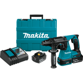 "Makita XRH01T 18V LXT Li-Ion Brushless Cordless 1"" Rotary Hammer Kit 5.0Ah"