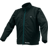 Makita CJ102DZ3XL 12V Max CXT Li-Ion Cordless Heated Jacket -Jacket Only black 3XL