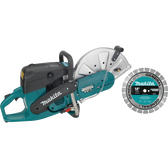 "Makita EK7301X1 14"" 73 cc Power Cutter With Diamond Blade"