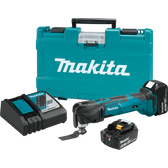 Makita XMT035 18V LXT Li-Ion Cordless Multi-Tool Kit 3.0Ah