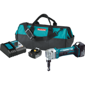 Makita XNJ01T 18V LXT Li-Ion Cordless 16 Gauge Nibbler Kit 5.0Ah