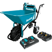 Makita XUC01PTX1 18V X2 LXT Li-Ion Brshlss Crdlss Power-Assisted Wheelbarrow Kit 5.0Ah