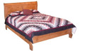 Pioneer Sleigh Bed (with low foot board)