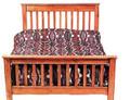Pilgrim Slat Bed