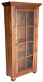 Farmhouse Single Door Library Cabinet