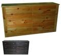 Union 6 drawer Dresser