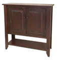 Kingsmere Sideboard. Seen in Red.