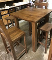 RW Collection 5 piece Pub Table Set