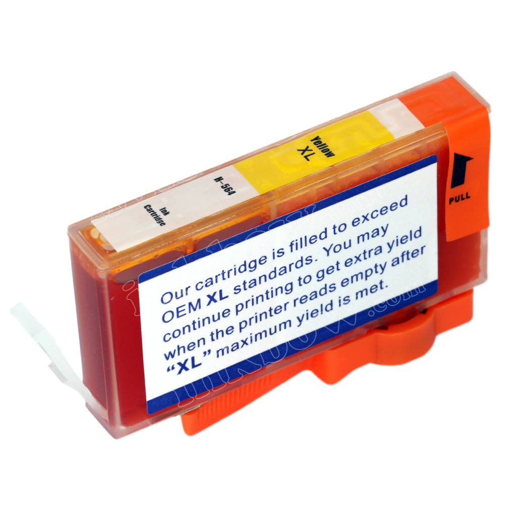 Compatible Hp 564xl Yellow Ink Cartridge Hp Cb325wa