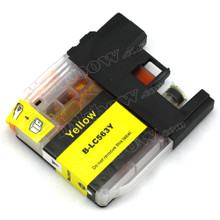 Brother LC563Y Yellow Compatible Ink Cartridge