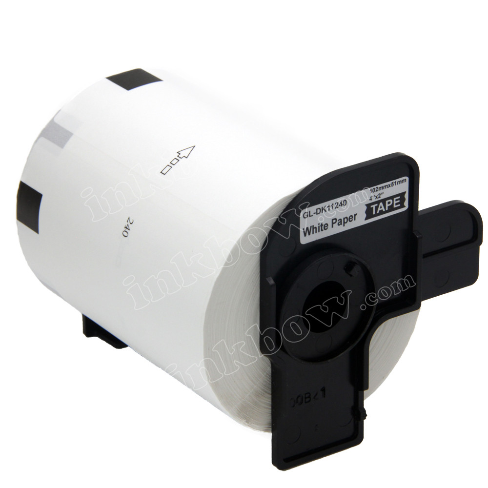 Compatible DK-11240 Barcode Labels for Brother Printer (Black On White)