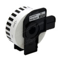 Compatible Brother DK-22210 Continuous Length Paper Tape (Black On White)