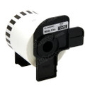 Compatible DK-22212 Continuous Length Film Tape for Brother Printer (Black On White)