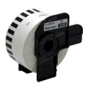 Compatible Brother DK-22225 Continuous Length Paper Tape (Black On White)