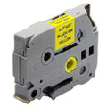 Compatible Brother TZe-631 Laminated Label Tape (12mm Black On Yellow)