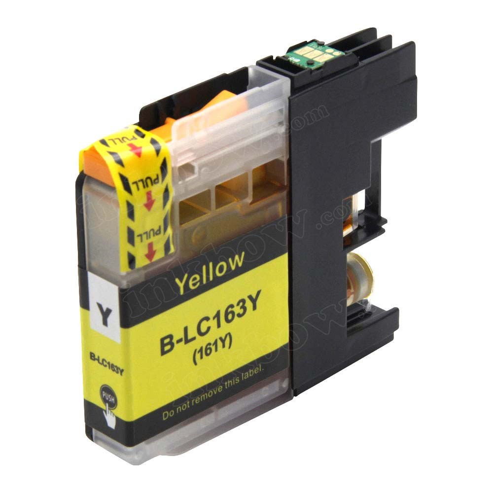 Where To Buy Cheap Brother LC 161Y Yellow Ink Cartridge In