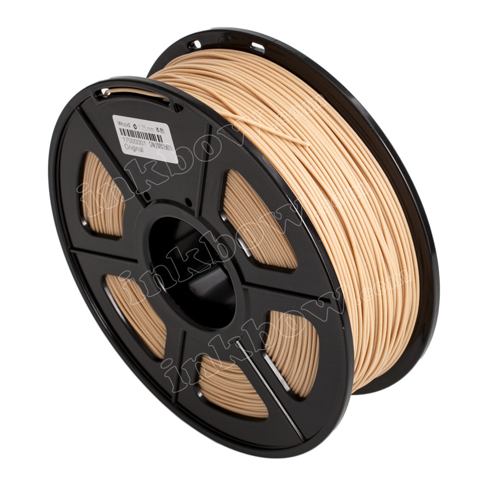 1 75mm 1kg Wood PLA Filament for 3D Printers