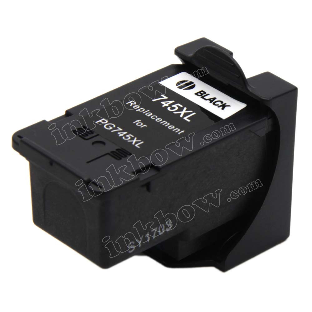 Remanufactured PG-745XL Black Ink Cartridge for Canon Printer (High Yield)