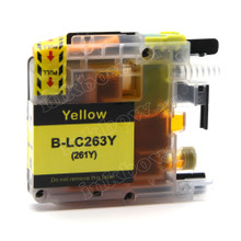 Compatible LC261Y Yellow Ink Cartridge for Brother Printers