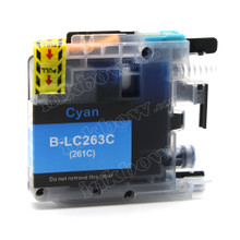 Compatible LC263C Cyan Ink Cartridge for Brother Printers