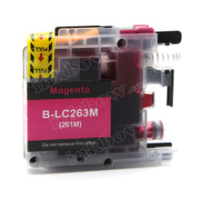 Compatible LC263M Magenta Ink Cartridge for Brother Printers