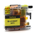 Compatible LC263Y Yellow Ink Cartridge for Brother Printers