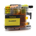 Compatible LC663Y Yellow Ink Cartridge for Brother Printers
