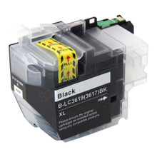 Compatible LC3619XL-BK Black Ink Cartridge for Brother Printer (High Yield)