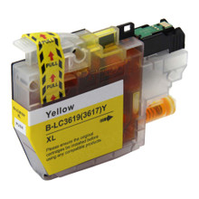 Compatible LC3617Y Yellow Ink Cartridge for Brother Printer