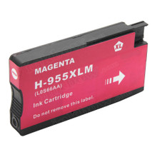 Compatible 955XL Magenta (LOS66AA) High Yield Ink Cartridge for HP Printer