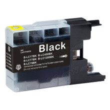 Compatible LC77-BK Black Ink Cartridge for Brother Printer