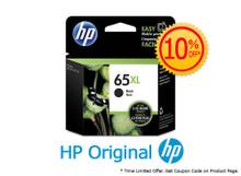 Original HP 65XL Black High Yield Ink Cartridge (N9K04AA) in Retail Packaging