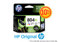 Original HP 804XL Tri-Color High Yield Ink Cartridge (T6N11AA) in Retail Packaging
