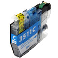 Compatible LC3511C Cyan Ink Cartridge for Brother Printer