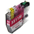 Compatible LC3511M Magenta Ink Cartridge for Brother Printer