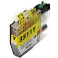 Compatible LC3511Y Yellow Ink Cartridge for Brother Printer
