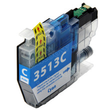 Compatible LC3513C Cyan Ink Cartridge for Brother Printer