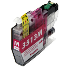 Compatible LC3513M Magenta Ink Cartridge for Brother Printer