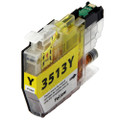 Compatible LC3513Y Yellow Ink Cartridge for Brother Printer