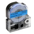Compatible LK-4LBP Label Tape for Epson Printer (12mm Black on Blue)